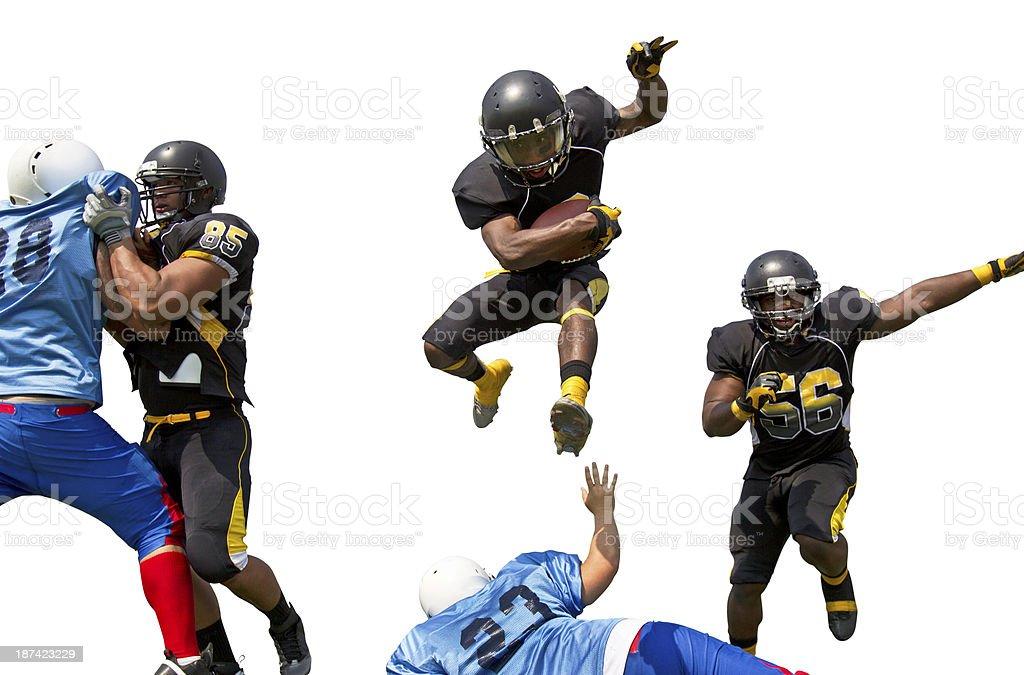 Football Players stock photo