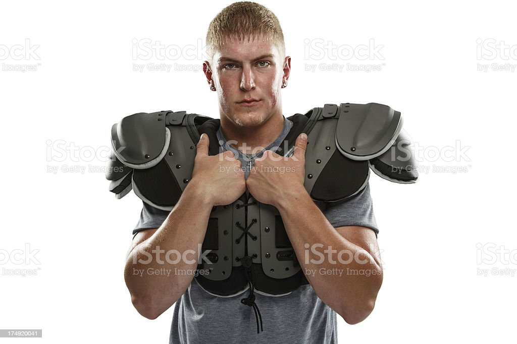 Football Portrait stock photo