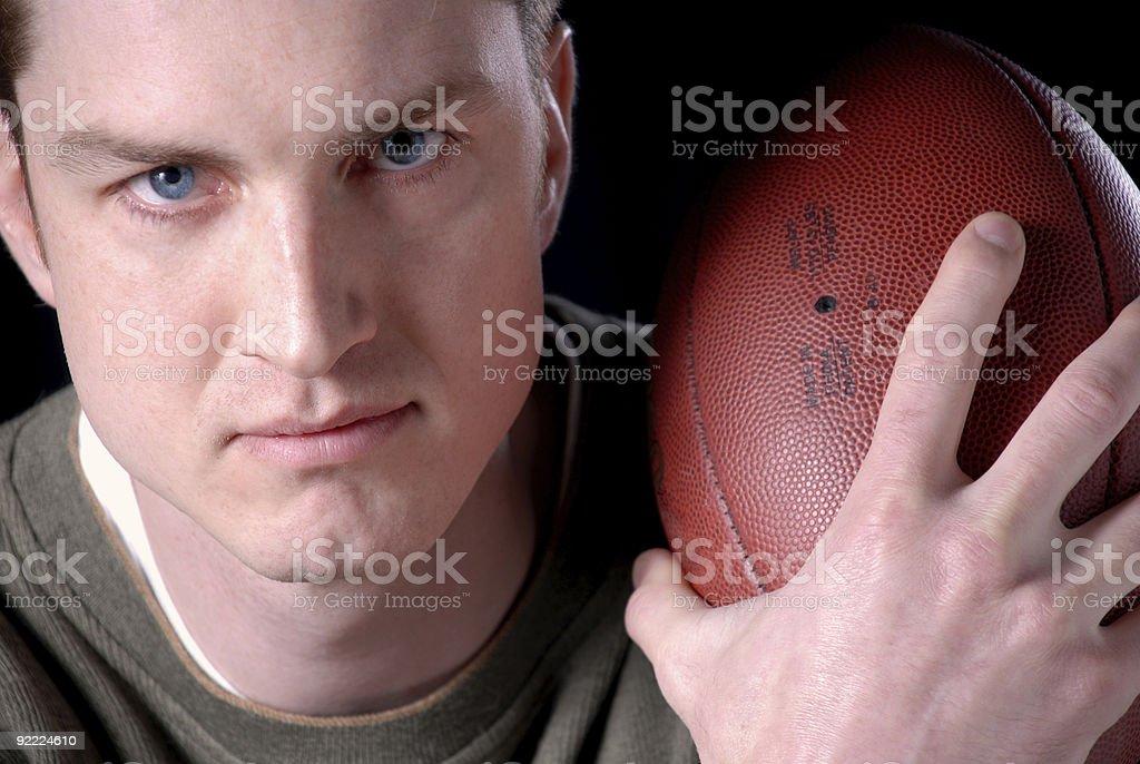 Football Portrait royalty-free stock photo