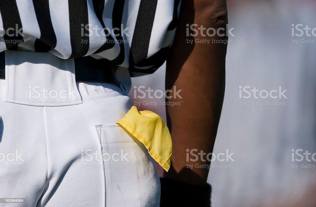Football (American) Referee stock photo