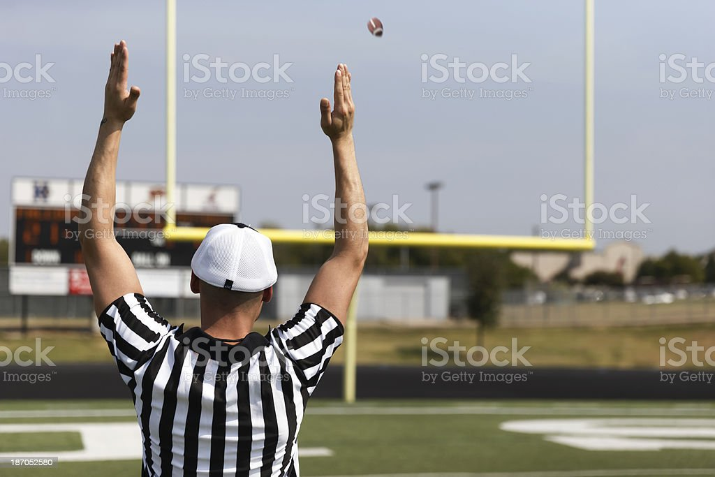 Football Referee stock photo