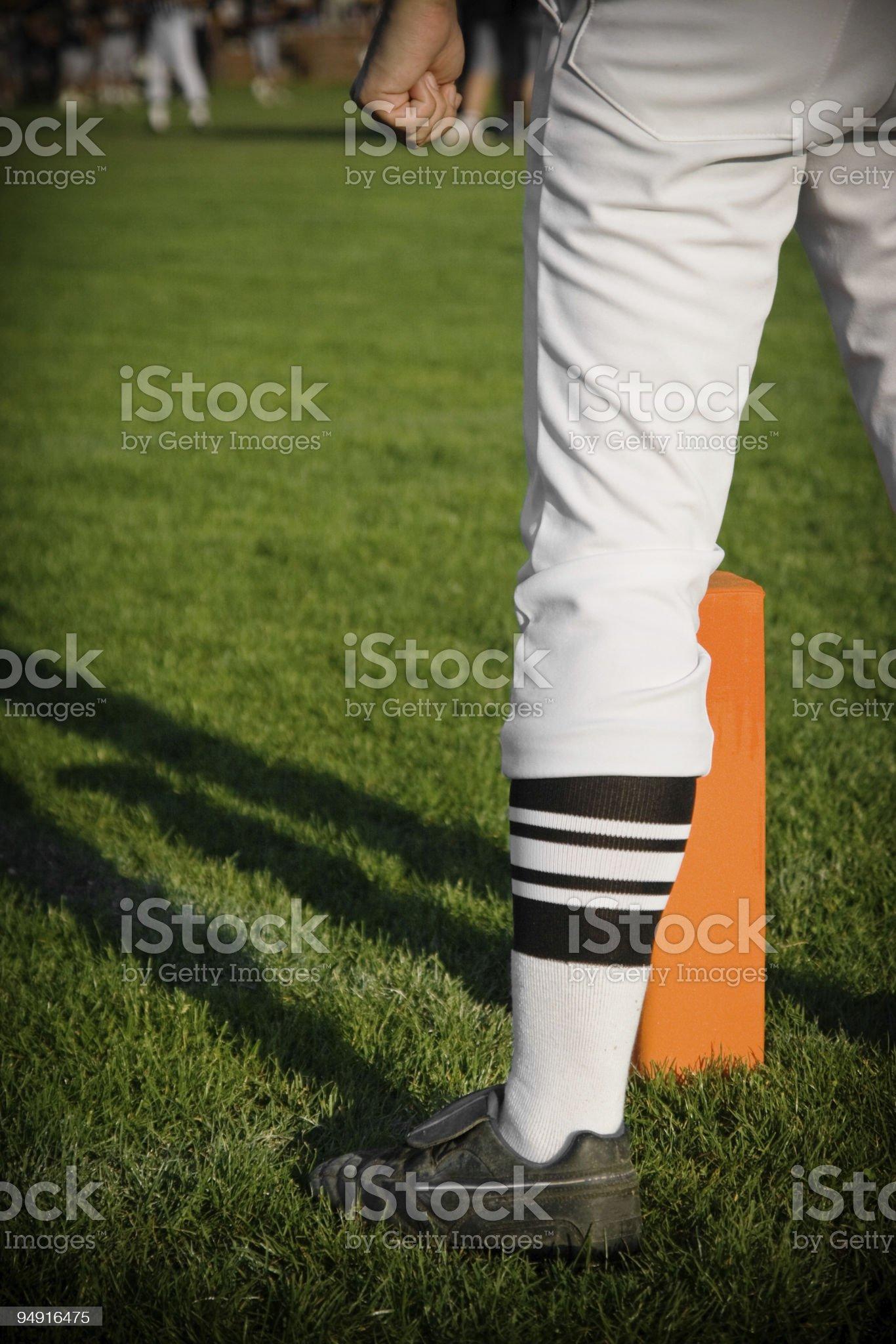 Football Referee royalty-free stock photo