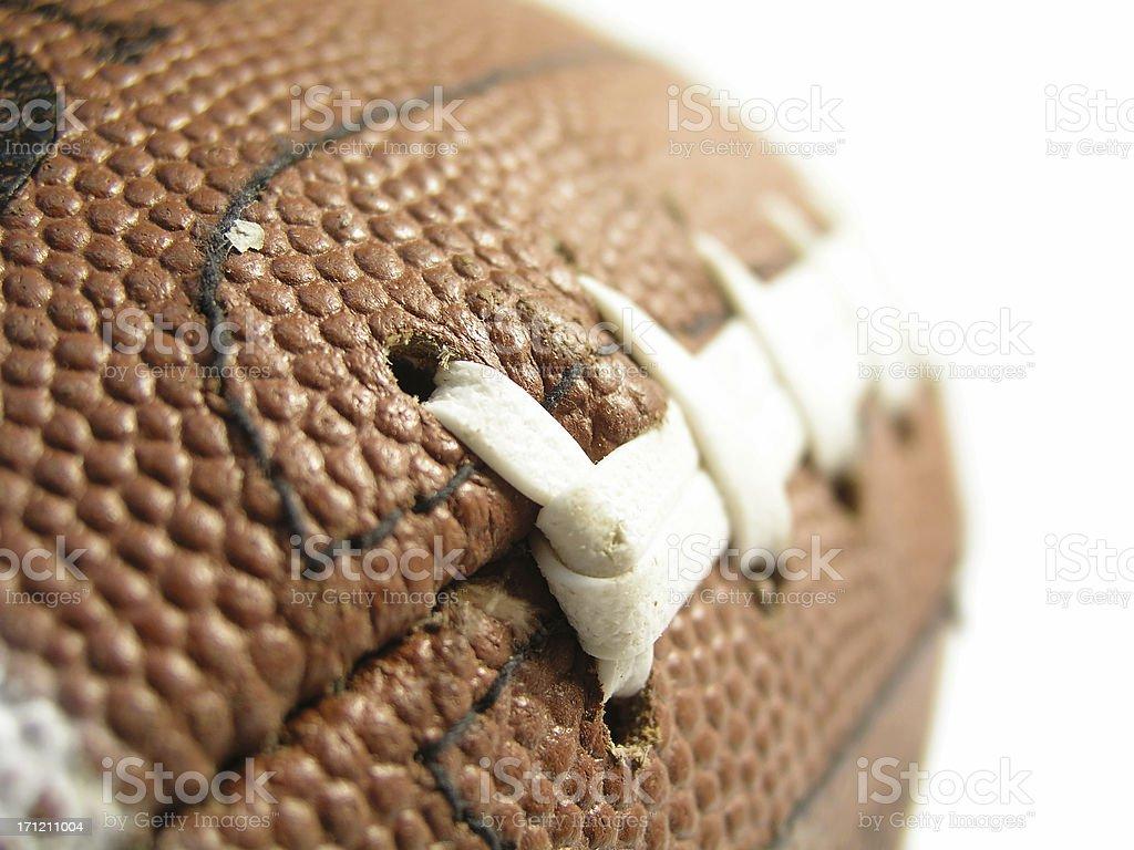 Football Seams royalty-free stock photo