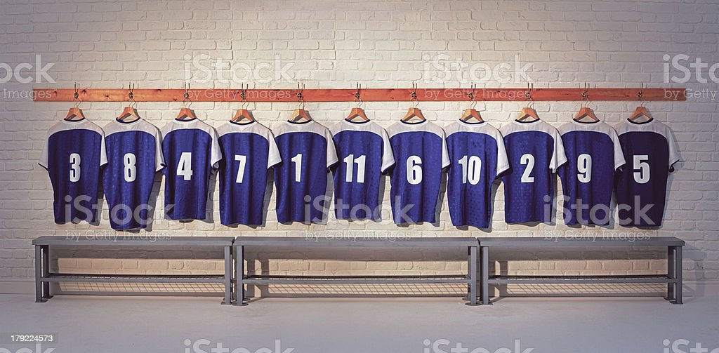 Football Shirts stock photo
