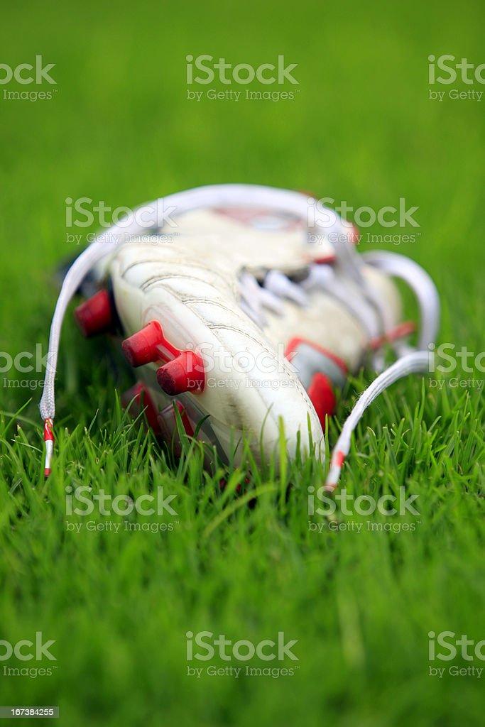 Football shoe royalty-free stock photo