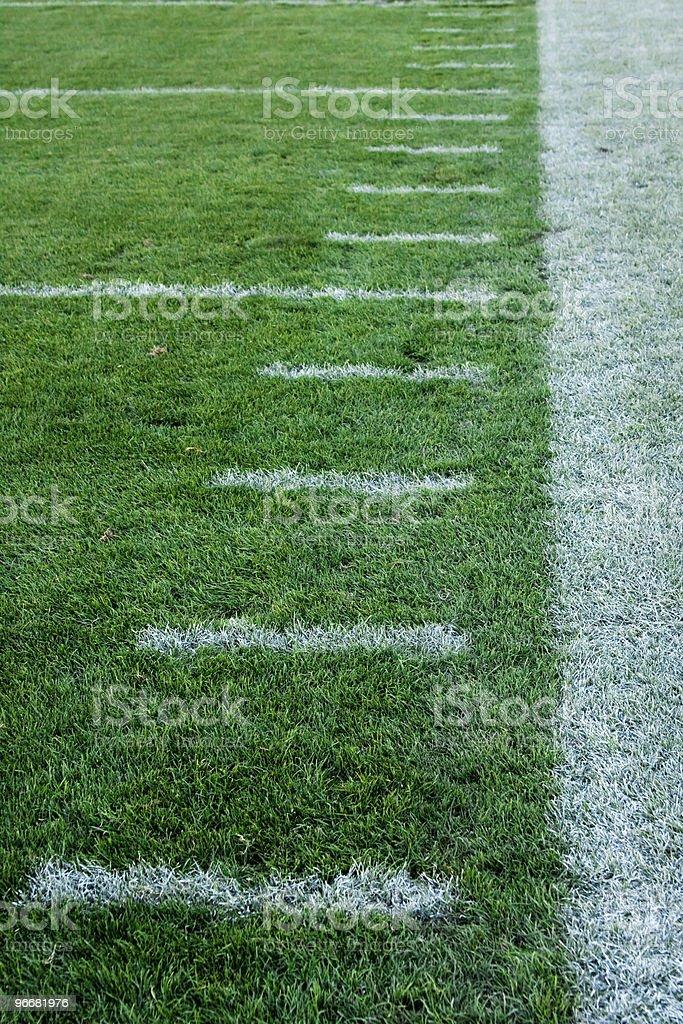 Football Sideline royalty-free stock photo