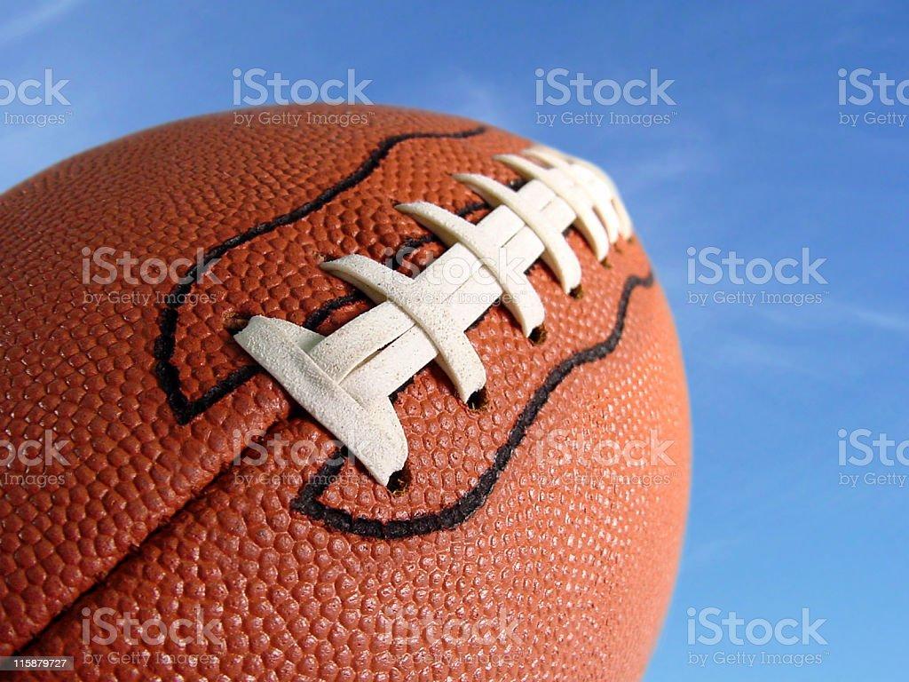 Football Soaring stock photo
