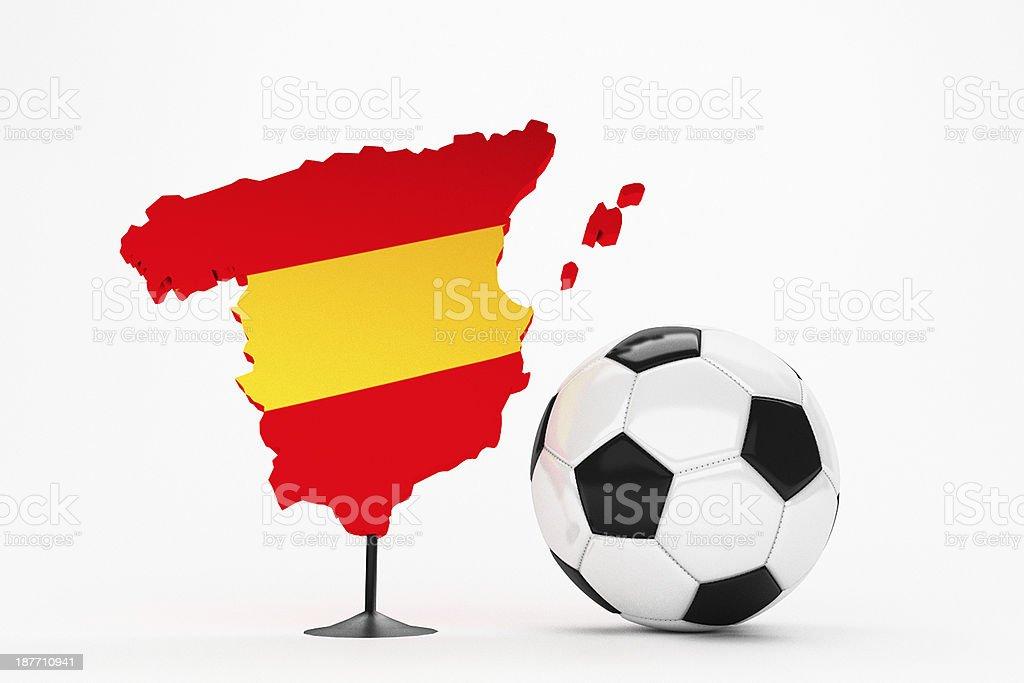 Fussball - Spanien stock photo