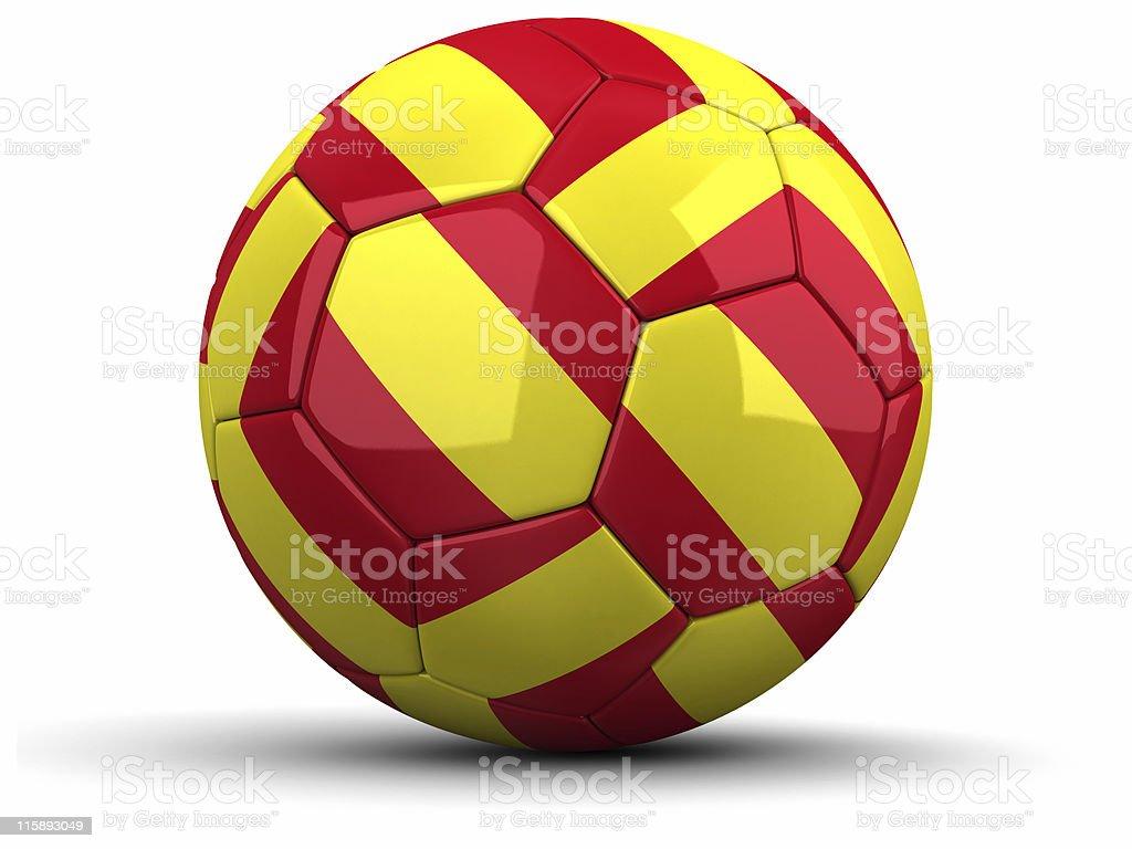 Football Spanish royalty-free stock photo