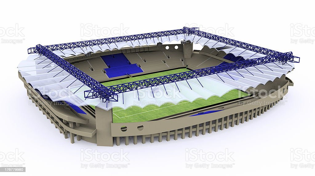 Football Stadium royalty-free stock photo