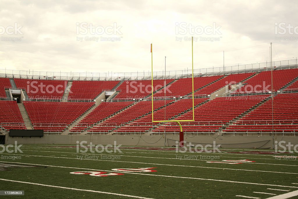 Football Stadium Series stock photo