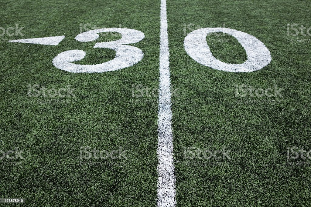 \'Football field stadium artificial grass or astroturf, lines and...