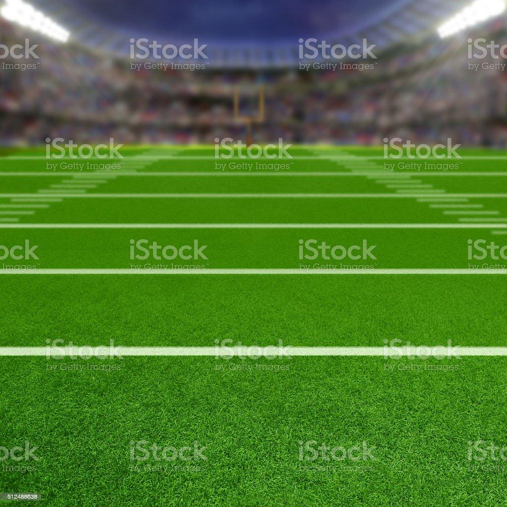 Football Stadium With Copy Space stock photo