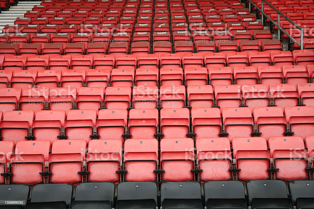 Football Stands royalty-free stock photo