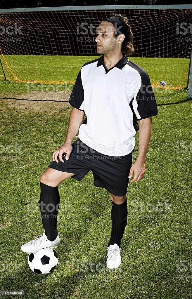 Football star - Soccer series royalty-free stock photo