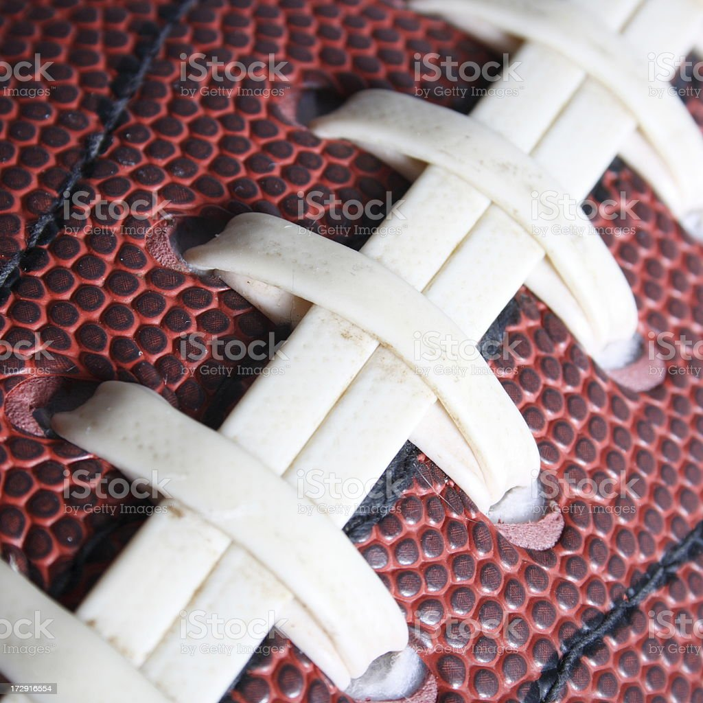 Football Strings royalty-free stock photo