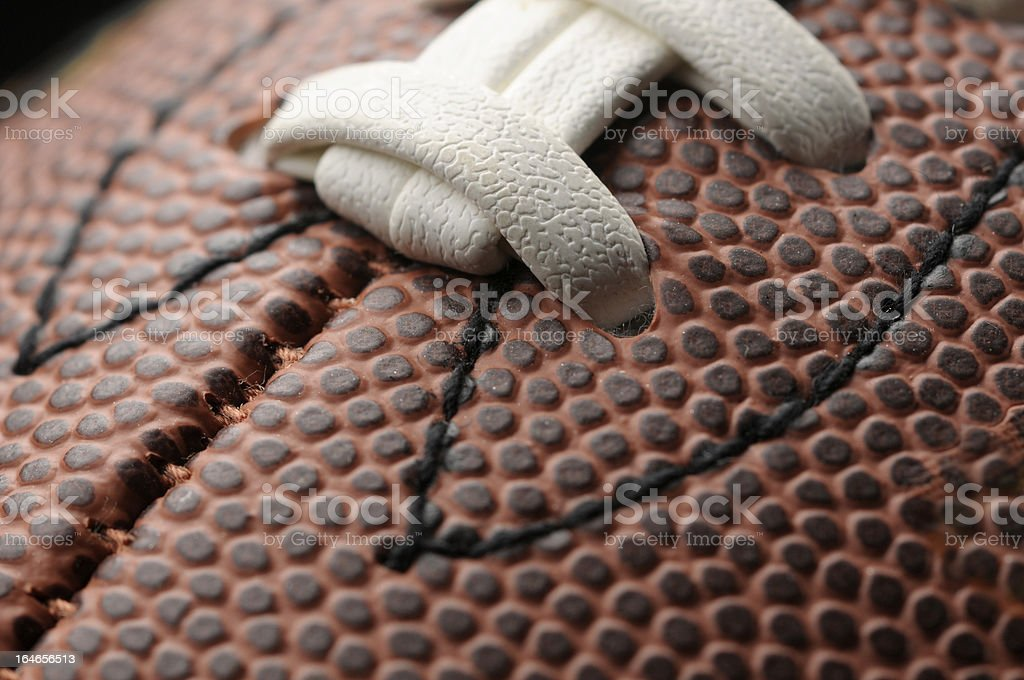 Football Texture royalty-free stock photo