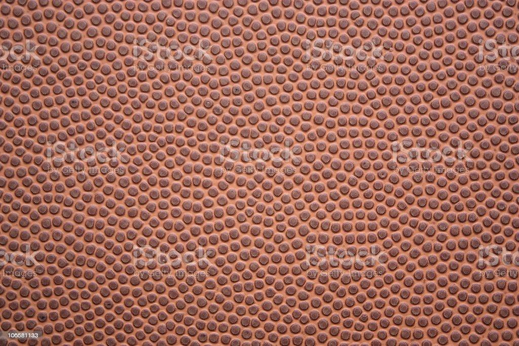 Football Textured Closeup royalty-free stock photo
