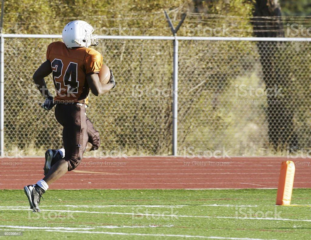 football touchdown royalty-free stock photo