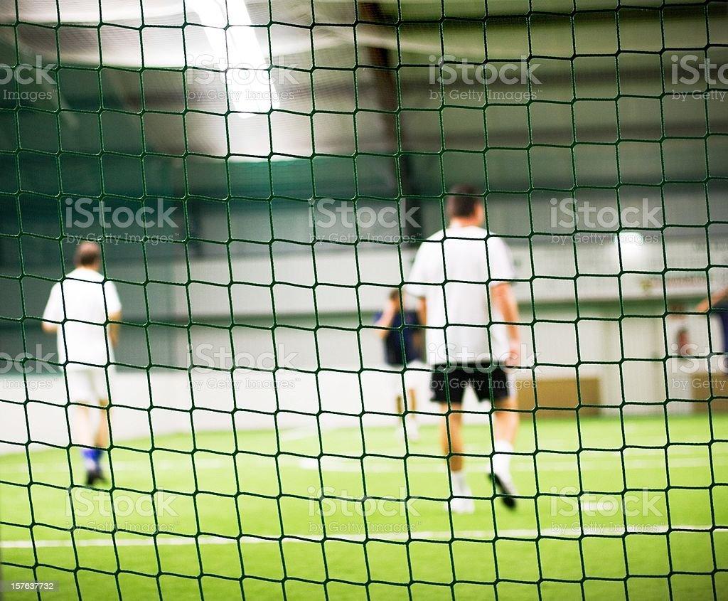 football training - indoor royalty-free stock photo