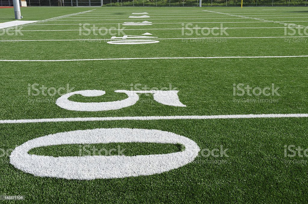 Football - Turf stock photo