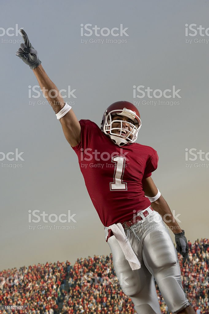 Football Victory royalty-free stock photo