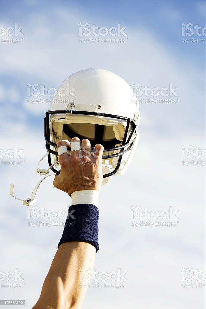 Football Victory (XXL) royalty-free stock photo