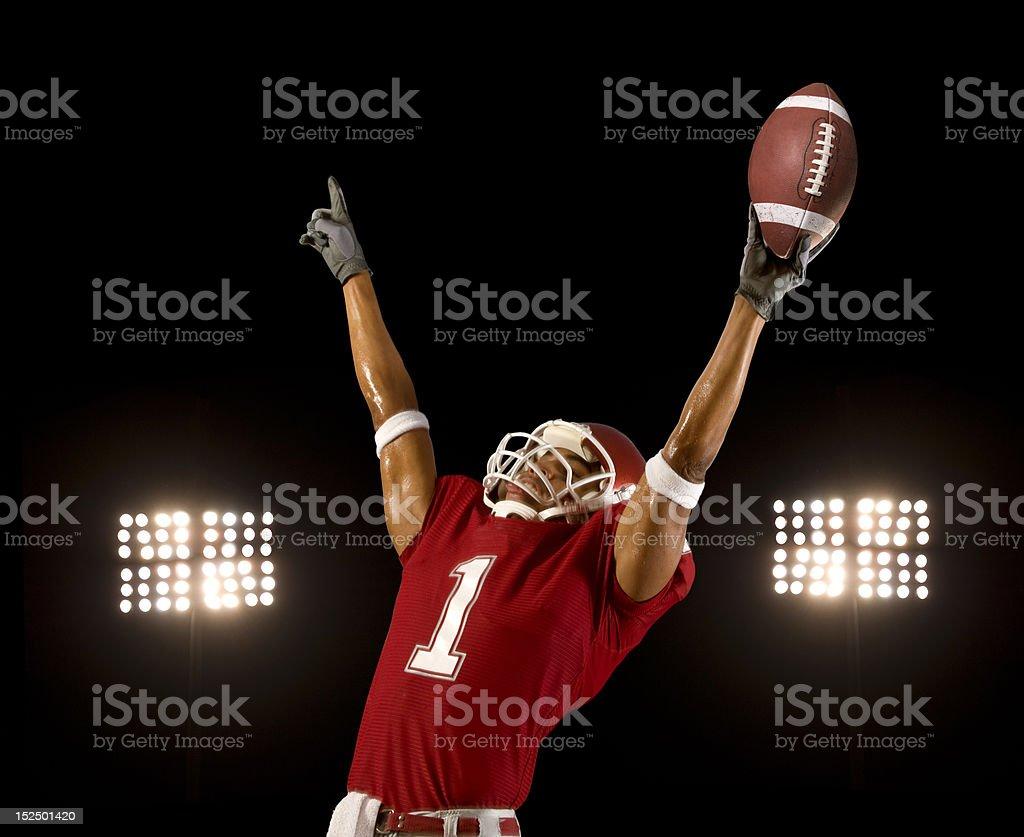 Football Win royalty-free stock photo
