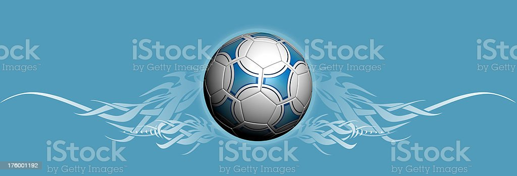 footBall with style stock photo