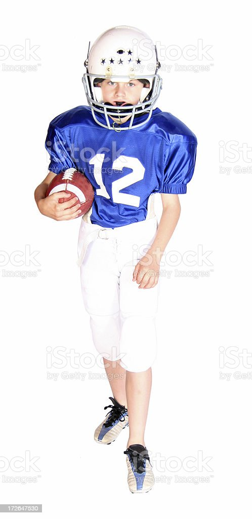 FootballSeries (19) royalty-free stock photo