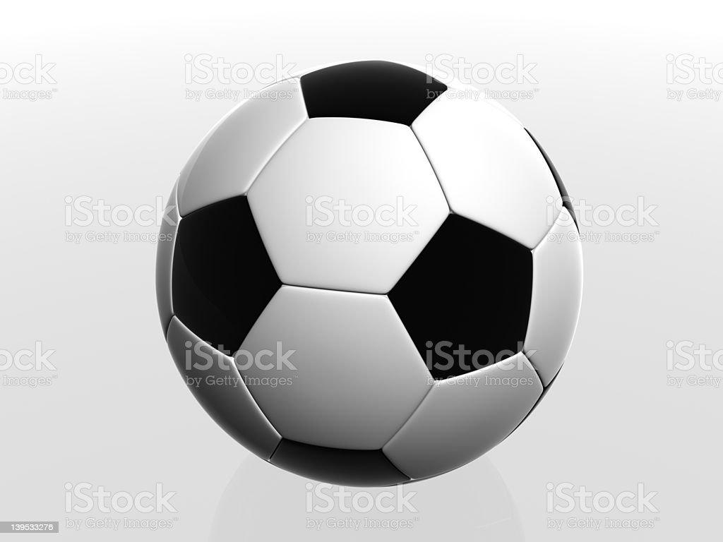 football/soccer ball stock photo