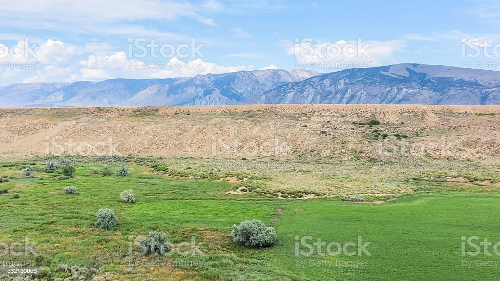 Foothill of Bear Tooth mountans, Red Lodge, Montana, USA. stock photo