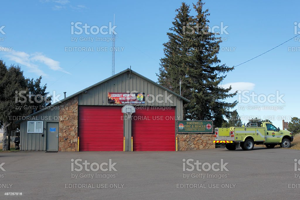 Foothills Fire and Rescue stock photo