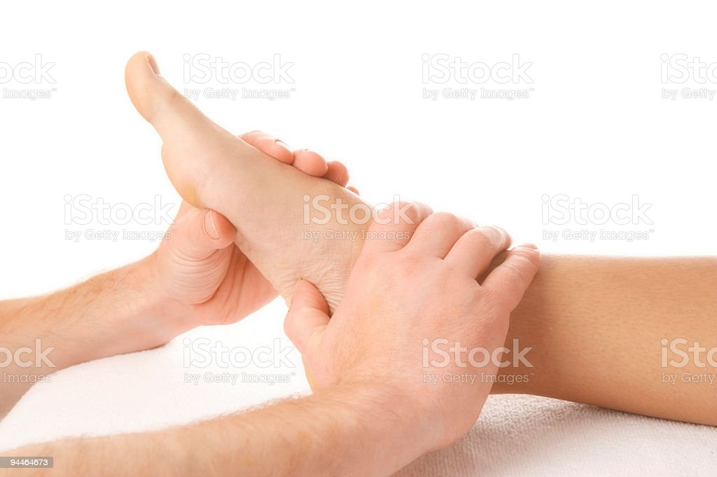 footmassage 1 royalty-free stock photo