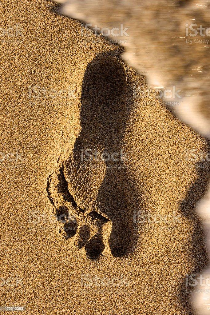 Fußabdruck – Foto