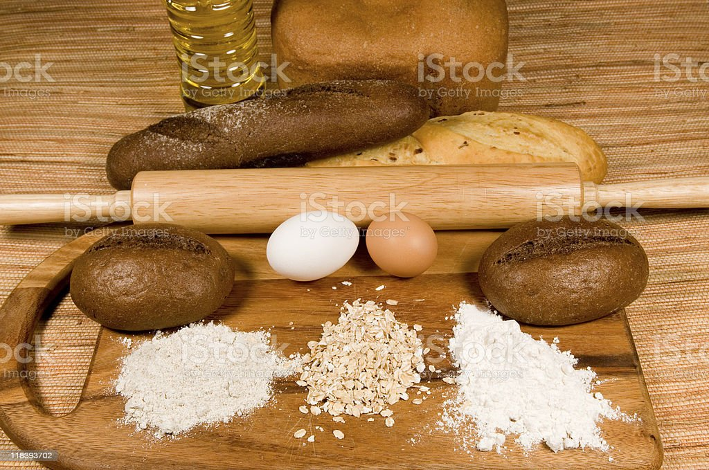 For a bread batch royalty-free stock photo