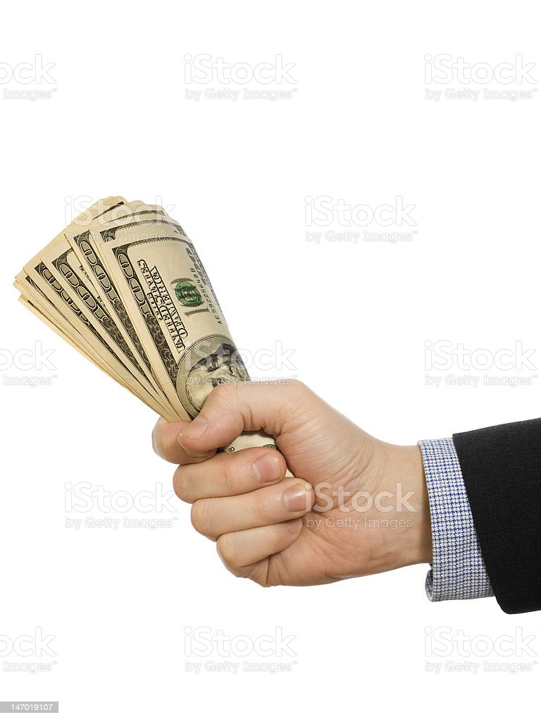 For a few dollars more stock photo