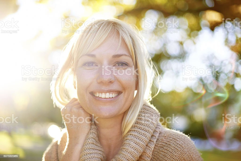For a smile that's bright as the day stock photo
