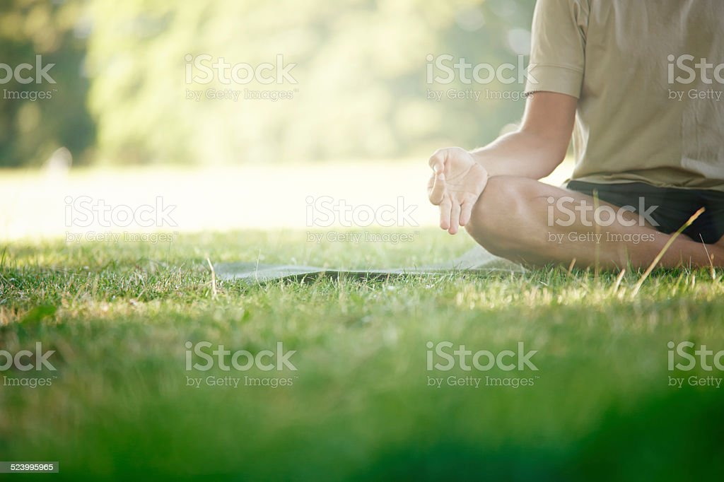 For body stress release stock photo