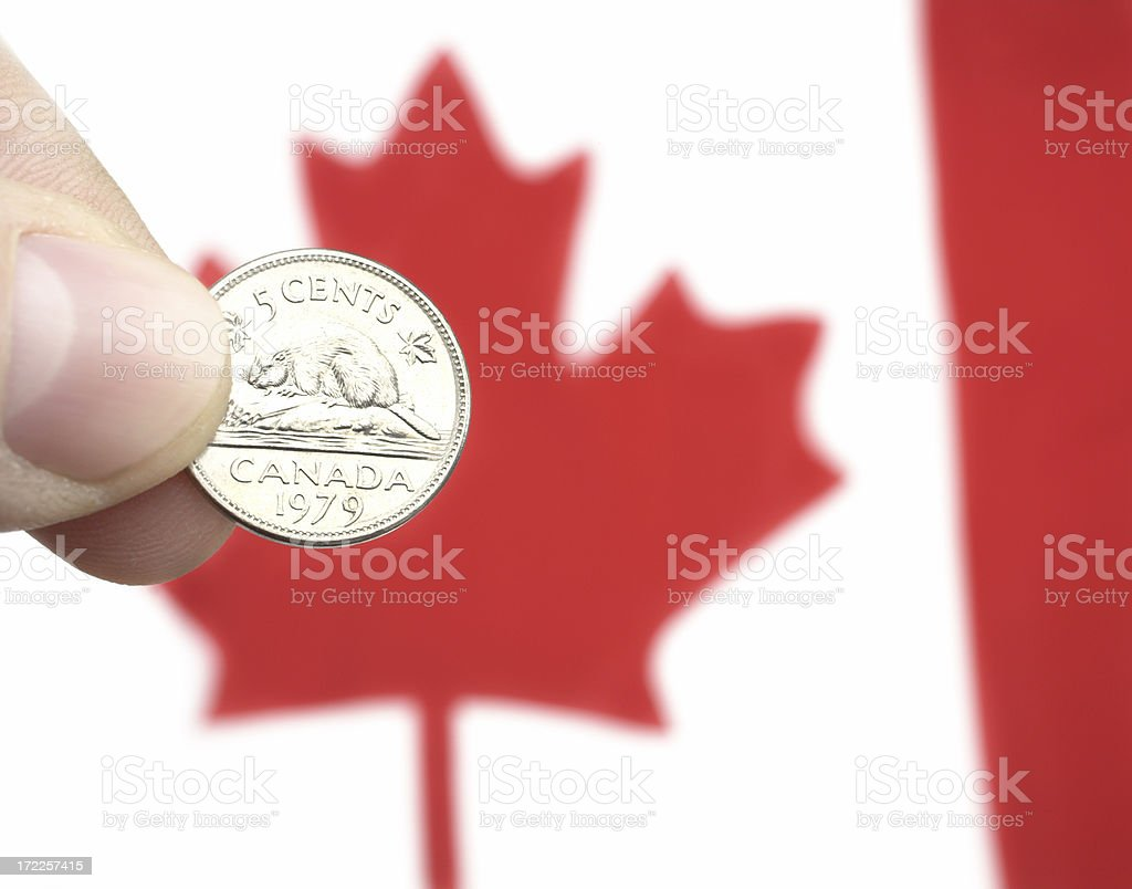 for five cents more royalty-free stock photo