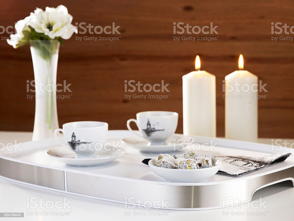 For guests stock photo