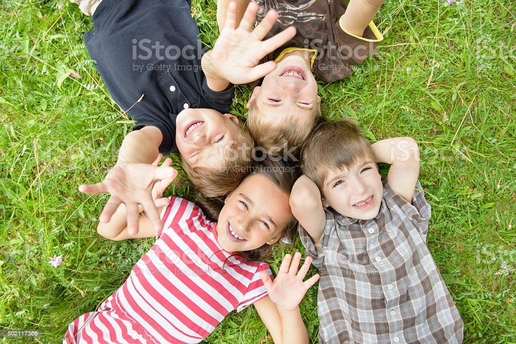 For Happy Kids stock photo