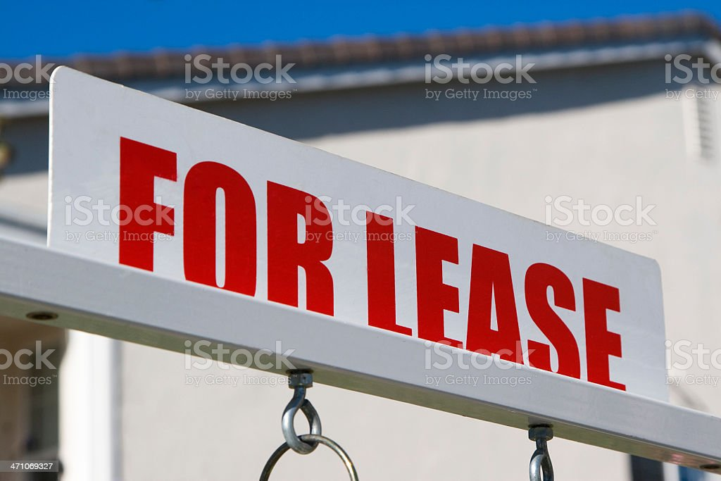 for lease royalty-free stock photo