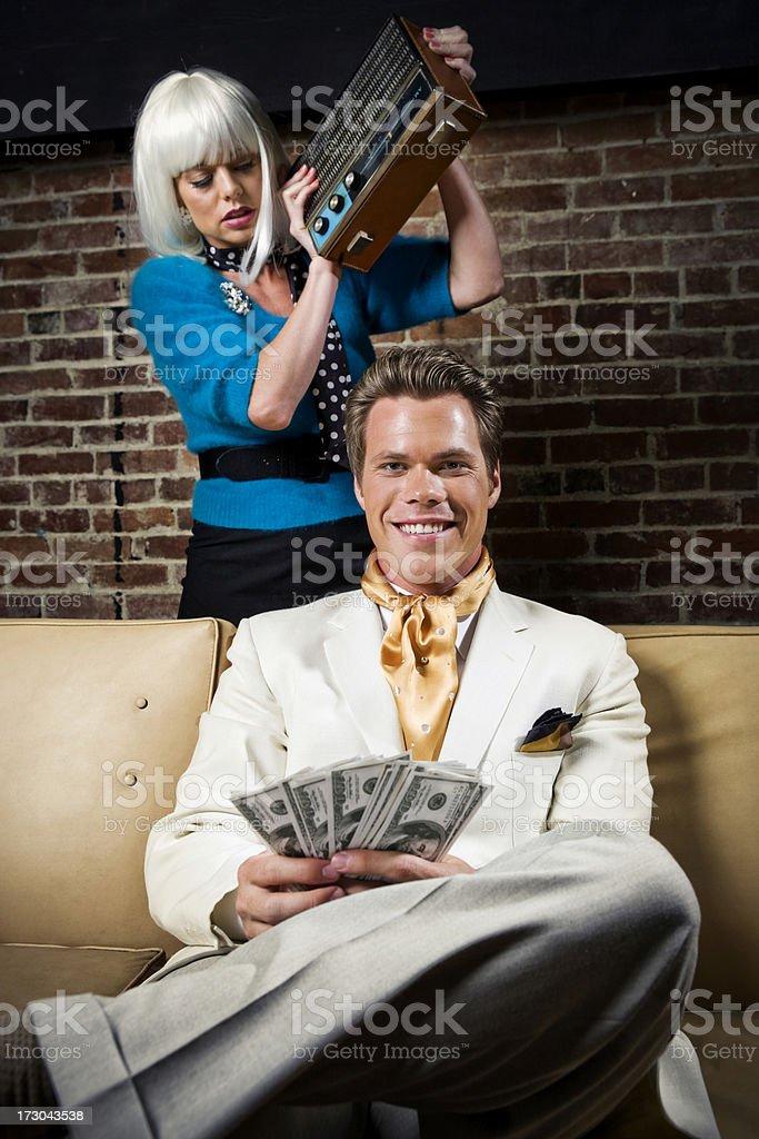 For Love of Money stock photo