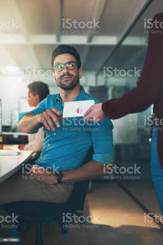 For me? stock photo