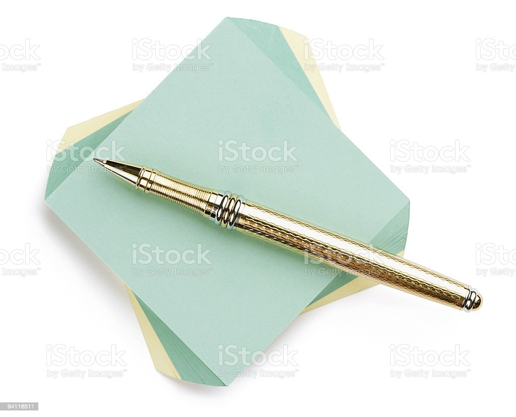 for notes stock photo