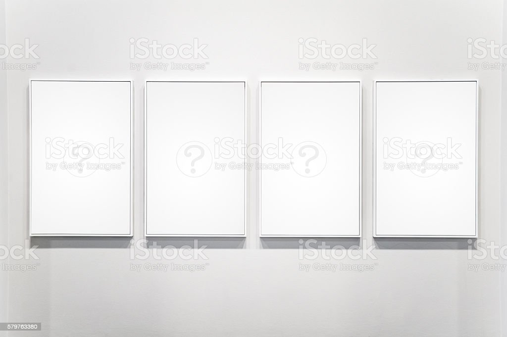 For Plain Empty Picture Frame stock photo