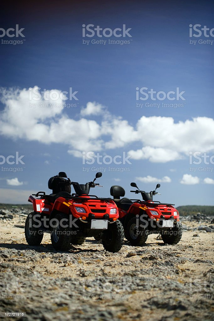 ATV for rent royalty-free stock photo