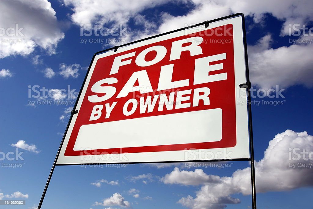 For Sale by Owner royalty-free stock photo