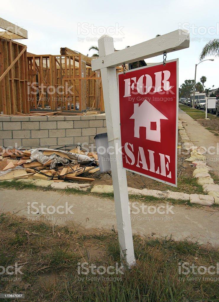 For Sale - Photo Illustration stock photo